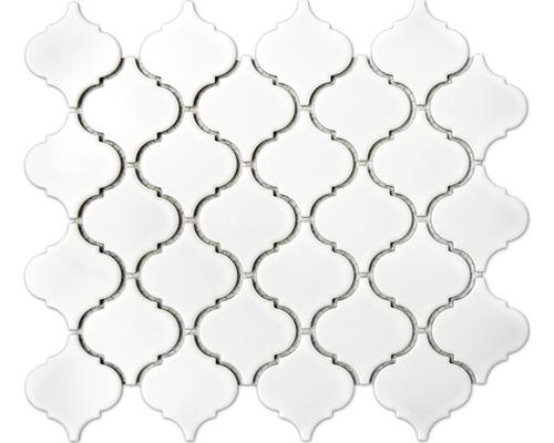 Keramikmosaik CLP 11WM weiß 24,5x29,3 cm