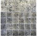 Glasmosaik CM 4BL22 schwarz 30x30 cm