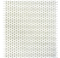 Glasmosaik CUBA B27W weiß 27,5x29,7 cm