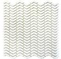 Glasmosaik CUBA HB37W weiß 29x29,5 cm