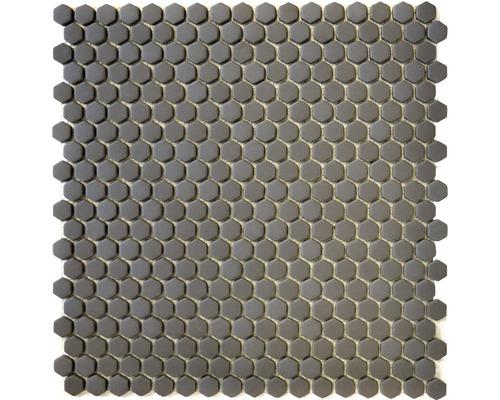 Glasmosaik CUBA HX15G grau 29x29,5 cm