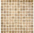 Glasmosaik CW 409 braun 30x30 cm