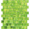 Glasmosaik XCM CF83 grün 28,6x31,8 cm