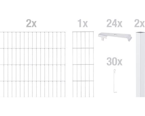 Zaungabione GAH Alberts Cluster Anbauset 200x180 cm verzinkt