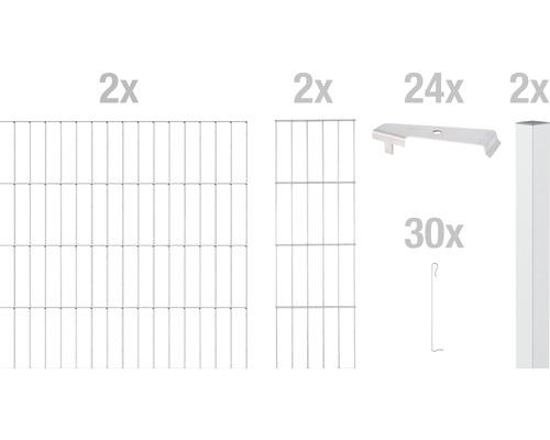 Zaungabione GAH Alberts Cluster Grundset 200x180 cm verzinkt