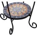 Blumenständer Siena Garten Prato Eisen-Mosaik B 41 H 59 cm schwarz