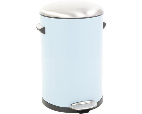 Treteimer Retro-Look 12 Liter blau