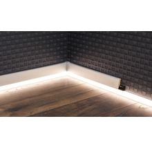 LED Kanal für LED Sockelleiste opal 22x2500 mm