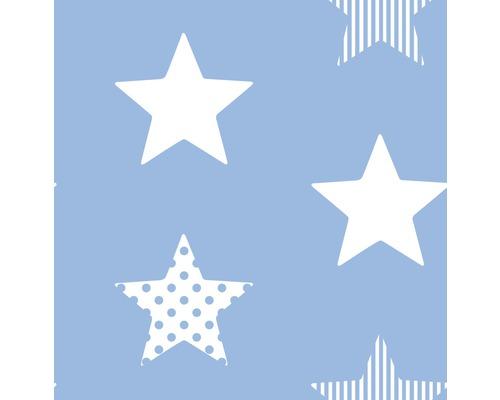 Vliestapete 100109 Kids@ Home 5 Sterne blau