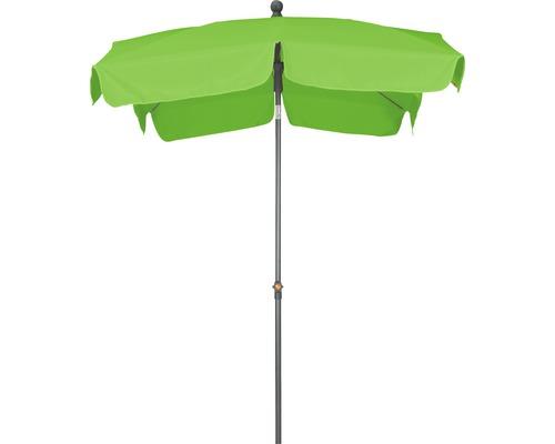 Sonnenschirm Siena Garden Tropico 210x140 cm Polyester 180 g/m² grün limette