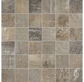 Mosaikfliese Boldstone beige/braun 30x30 cm