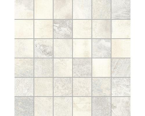 Mosaikfliese Boldstone beige 30x30 cm