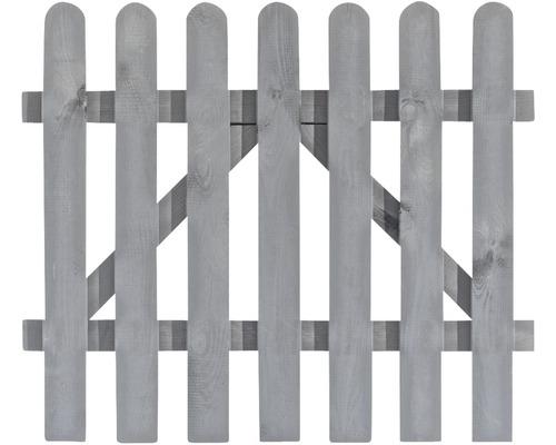 Staketenzaun Tor Niklas 100 x 85 cm, grey