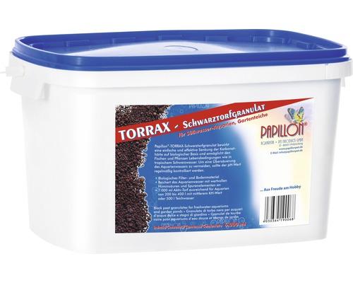 Filtermaterial PAPILLON Torrax-Schwarztorfgranulat mit Filtermedienbeutel 6 l