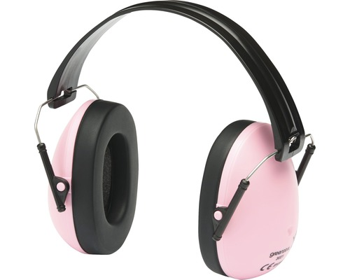 Kapselgehörschutz Safety Kids Pink