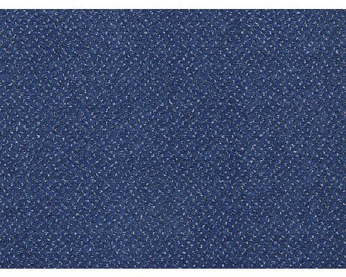 Teppichboden Velours Bristol dunkelblau 500 cm breit (Meterware)