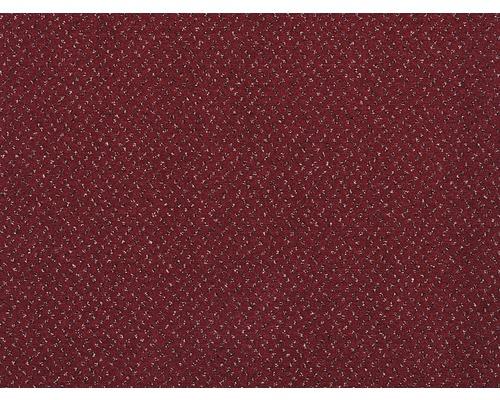 Teppichboden Velours Bristol rot 500 cm breit (Meterware)