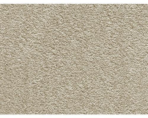 Teppichboden Luxus Shag Romantica hellbeige 400 cm breit (Meterware)