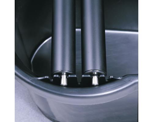 Ersatzwaschrolle mit Metallachse zu Fliesen-Waschset Hufa
