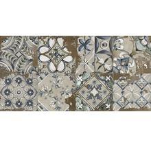Feinsteinzeug Dekorfliese Metropolitan S braun 30 x 60 cm mix
