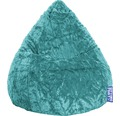 Sitzkissen Sitting Point Sitzsack Beanbag Fluffy XL smaragd 70x110 cm