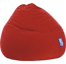 XXL Sitzkissen Sitting Point Sitzsack Beanbag Easy XL dunkelrot 70x110 cm