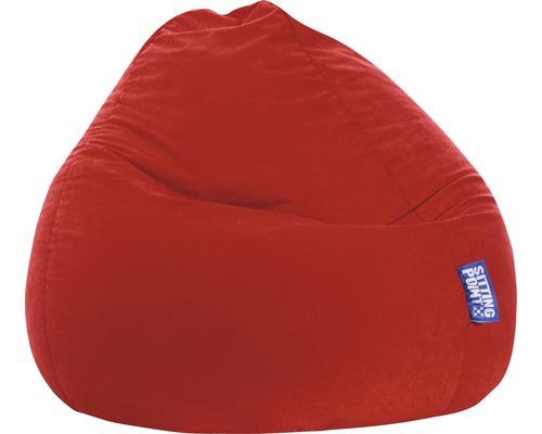 Sitzkissen Sitting Point Sitzsack Beanbag Easy XL dunkelrot 70x110 cm