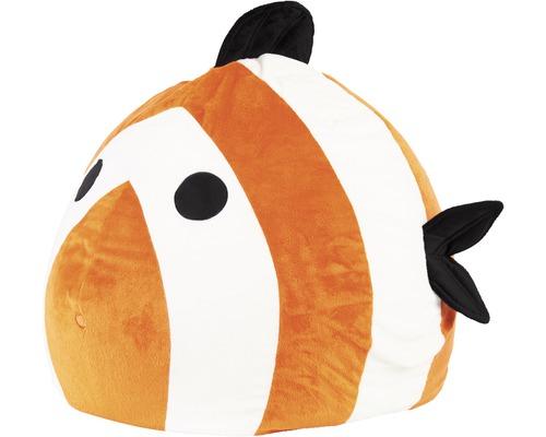 Sitzkissen Sitting Point Sitzsack Beanbag Kidding Fisch orange 60x60x45 cm