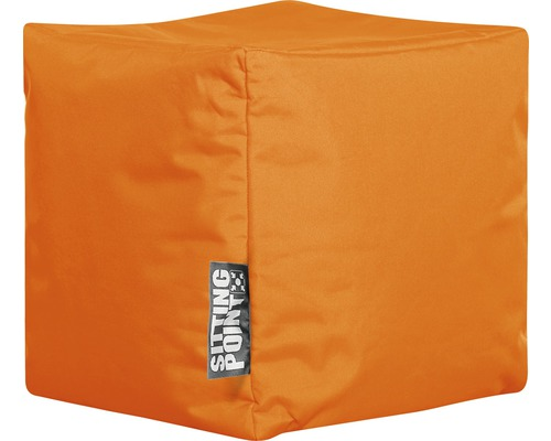 Sitting Point Sitzhocker Cube Scuba orange 40x40x40 cm