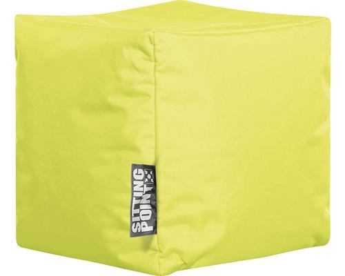 Sitting Point Sitzhocker Cube Scuba grün 40x40x40 cm