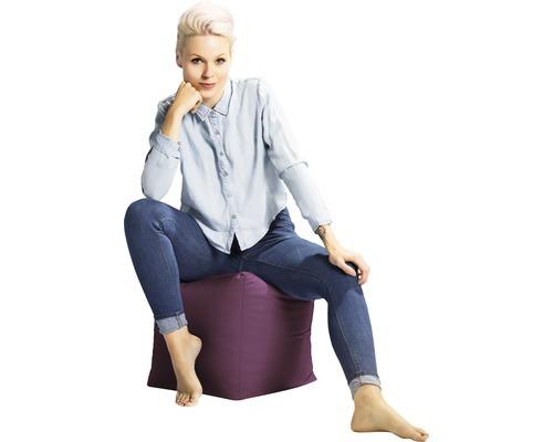 Sitting Point Sitzhocker Cube Scuba lila 40x40x40 cm