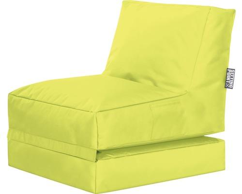 Sitzkissen Sitting Point Sitzsack Twist Scuba grün 70x80x90 cm
