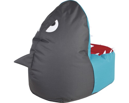 Sitzkissen Sitzsack Shark Brava grau