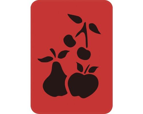 Dekorschablone Früchte