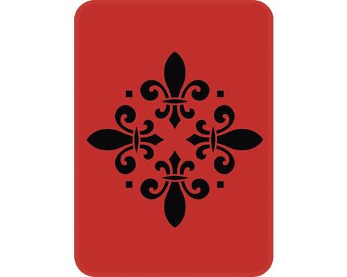 Dekorschablone Ornament 14,5 x 20,5 cm