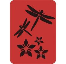Dekorschablone Libellen