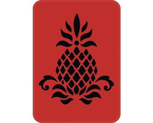 Dekorschablone Ananas