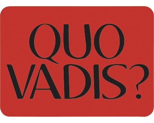 Dekorschablone Quo Vadis 56 x 43 cm
