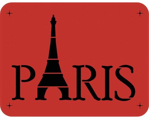 Dekorschablone Paris