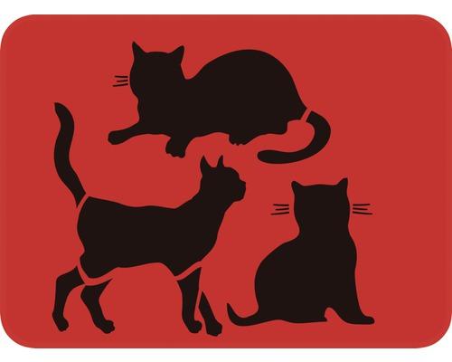 Dekorschablone Katzen 56 x 43 cm