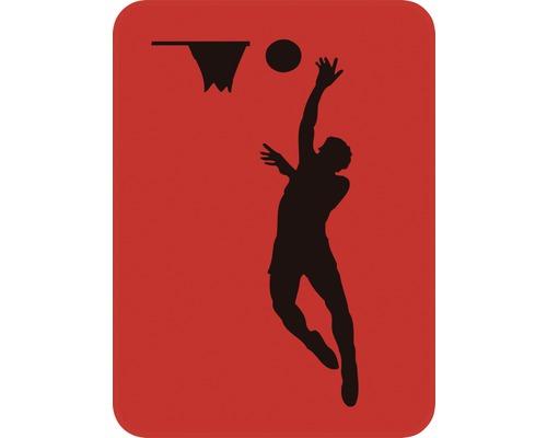Dekorschablone Basketballer