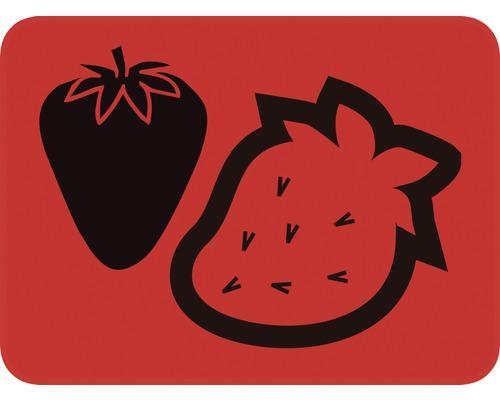Dekorschablone Erdbeeren