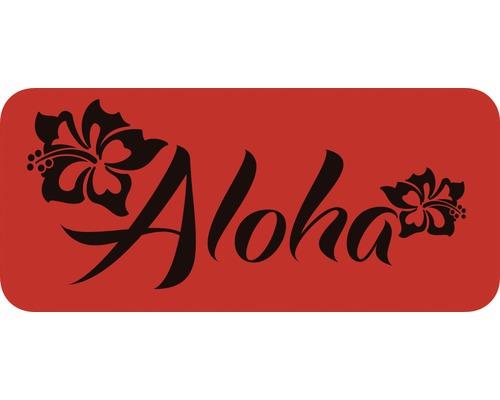 Dekorschablone Aloha 56 x 29,5 cm