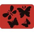 Dekorschablone Schmetterling