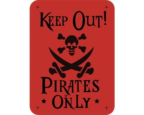 Dekorschablone Pirates only 43 x 56 cm