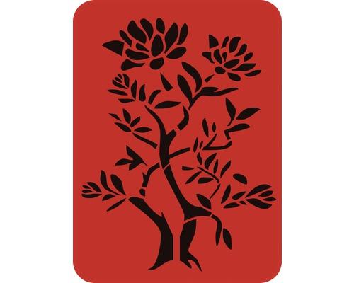 Dekorschablone Baum