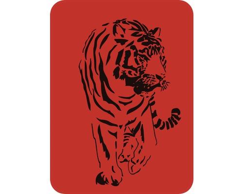 Dekorschablone Tiger 43 x 56 cm