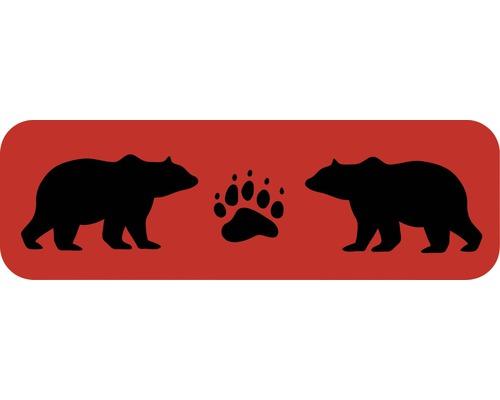 Dekorschablone Bordüre Bären 44 x 14 cm