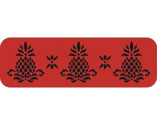 Dekorschablone Bordüre Ananas