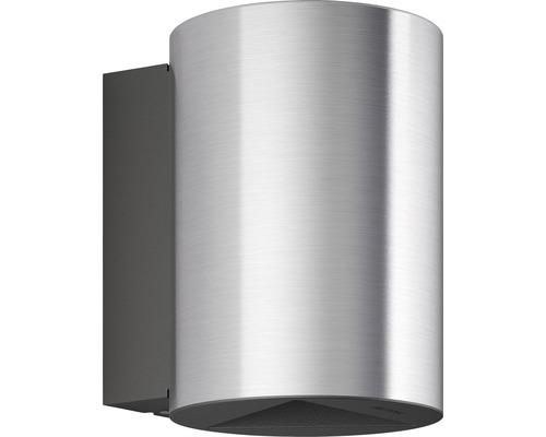 LED Außenwandleuchte dimmbar 2x4,5W 2x500 lm warmweiß H 140 mm Buxus edelstahl